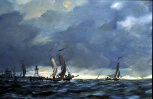 Uitvaren van de vloot, Enkhuizen