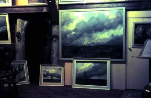 Thuishaven grote atelier/expositieruimte