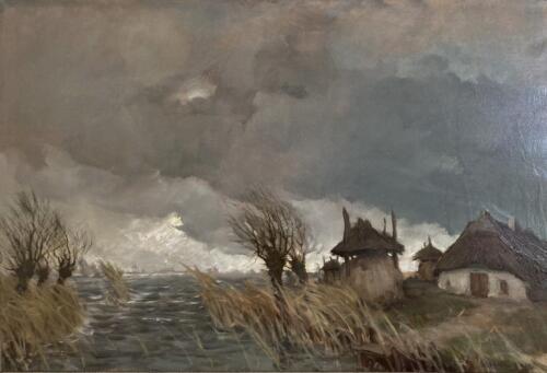 Storm aan het Muiderveld
